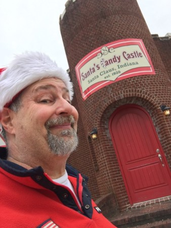 At Santa's Candy Castle