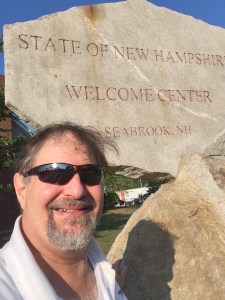 Welcome to New Hampshire! US State #48 for me.