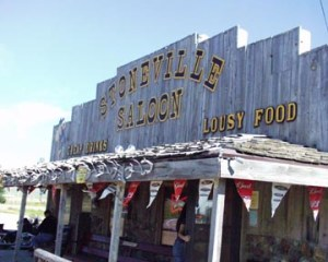 Stoneville Saloon in Alzada, MT taken in June 2005