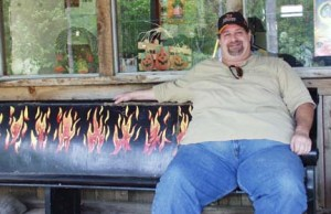 Hell Bench in Hell, MI