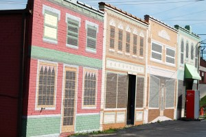 Painted Facade in Glasgow, KY
