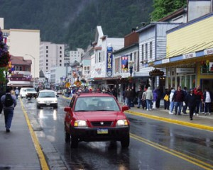 Downtown Juneau Alaska