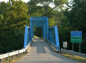 Quicksand Bridge in Kentucky