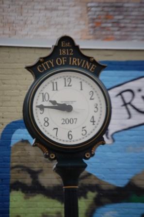 Irvine Clock
