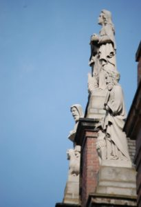 More Statues on Holy Rosary Church in Little Italy