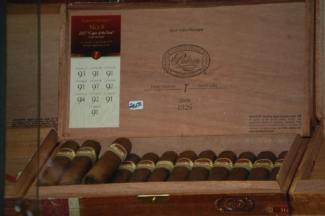 Mayfield Smoke Shop carries dozens and dozens of varieties of cigars
