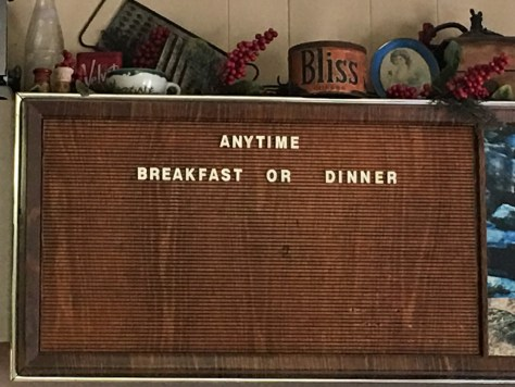 Breakfast or Dinner Anytime at the Wigwam