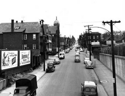 Mayfield Road in 1953, a couple of years before I was born here.