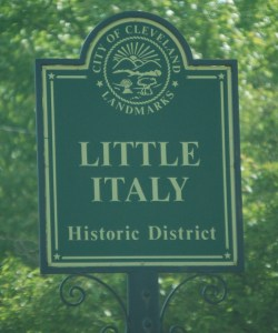 Little Italy Historic District in Cleveland