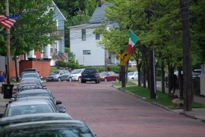 Murray Hill Road, still a red brick avenue, is the name sake for the Murray Hill Neighborhood