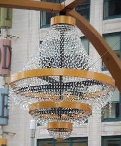 Cleveland's Playhouse Square Chandelier