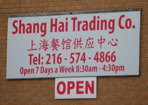 Shang Hai Trading in the Asian District of Cleveland