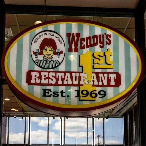 Wendy's 1st Restaurant in 1969