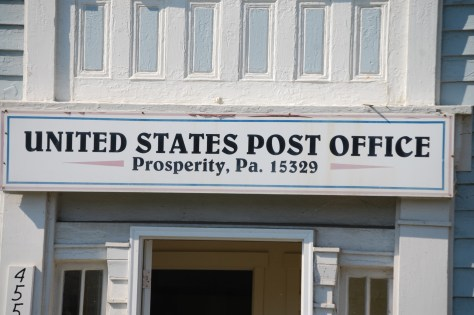 Prosperity Post Office in Pennsylvania