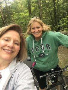Julianne and Laura on the Erie Towpath