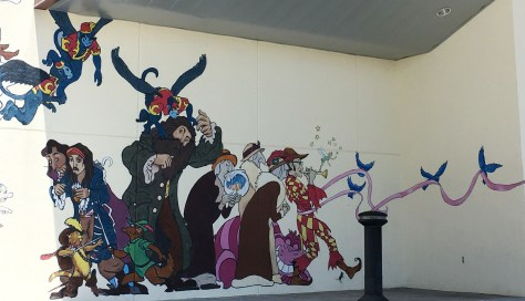 Wall Art at the Abingdon Cinemall