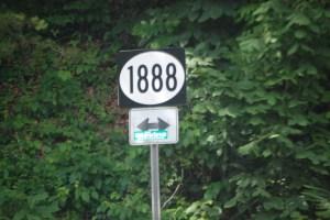 KY Hwy 1888 near Ivyton, KY