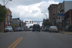 Downtown Millersburg, OH in the heart of Amish Country