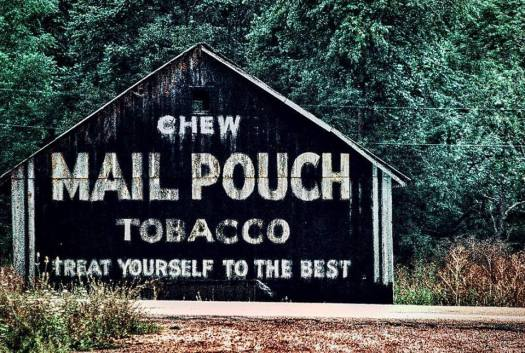 Mail Pouch Barn in Brinkhaven, OH