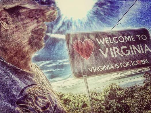Welcome to Virginia...taken in early August