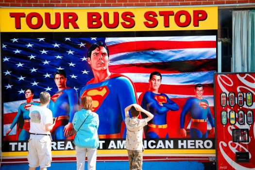 """Super"" Family Trip - Metropolis, Illinois"