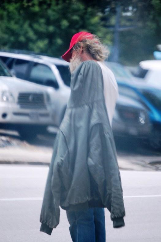 Street Person - Dallas, Texas