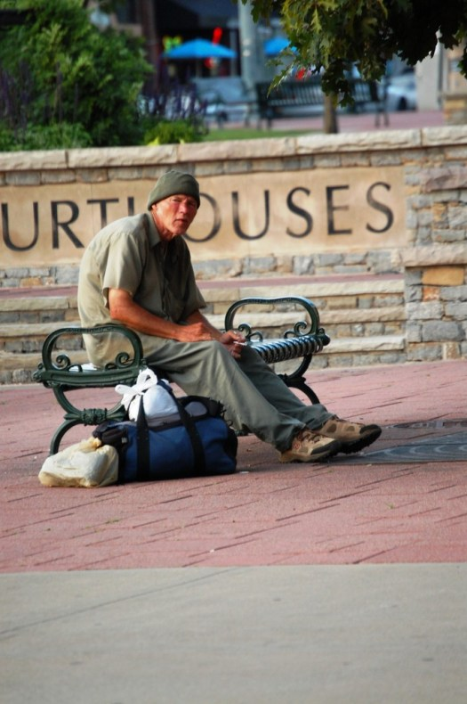 Sitting out the Day - Lexington, Kentucky