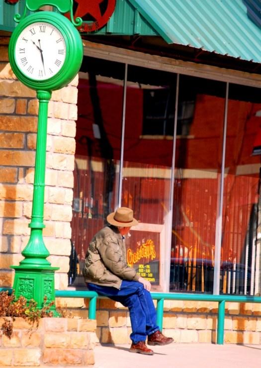 Sitting - Mineral Wells, Texas