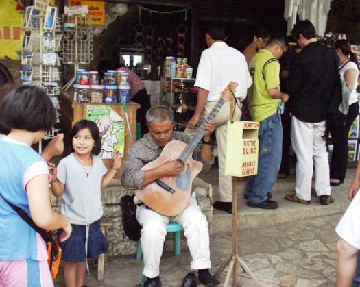 Blind Guitarist - Colon, Cebu