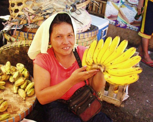 Banana Vendor - Carbon Market - Cebu