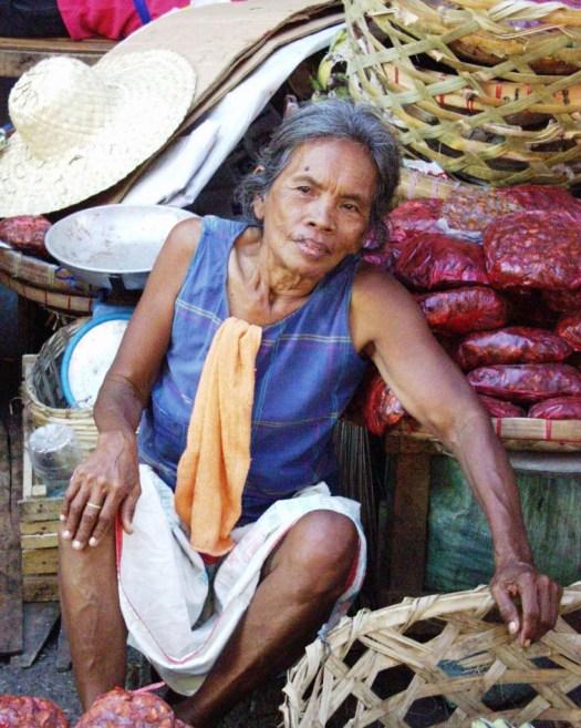 Vegetable Vendor - Carbon Market - Cebu