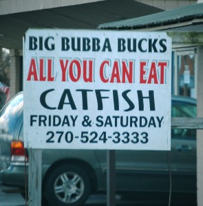Big Bubba Bucks Catfish