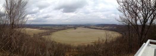 View from Scott Ridge overlook