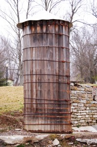 Old Wooden Water Tower - Stanford, KY