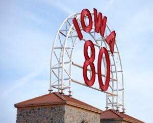 I-80 Truck Stop Roof Sign