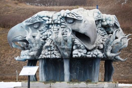 Thunderbird Statue - Keelboat Park, Bismarck, ND