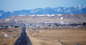 Approaching Belt, Montana from the east