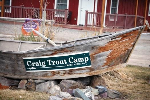 Old Row Boat in Craig, MT
