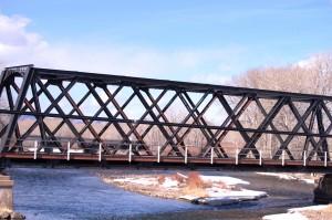 Union Pacific Bridge over the Big Hole River near Glen, MT