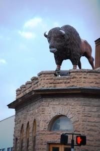 Buffalo Statue - Driggs, ID