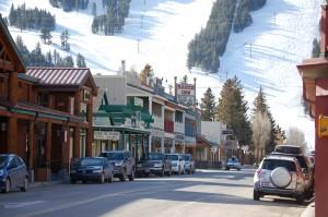 Jackson, Wyoming and Ski Slope