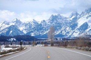 Grand Tetons along US 89