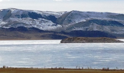 Clark Reservoir in Southern Montana