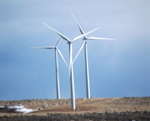 Another view of the turbines