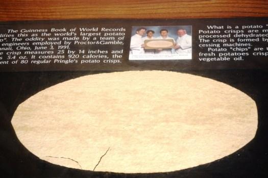 "World's Largest Potato Chip - 23"" x 14.5"""
