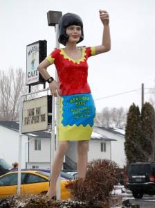Giant Waitress