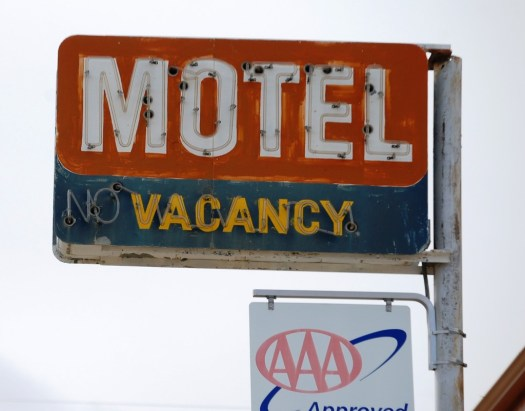 Old Motel Sign - Shelby, Montana