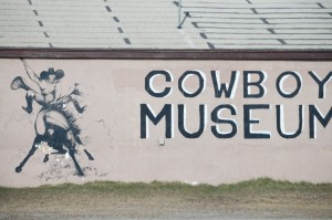 Cowboy Museum in a Native American town