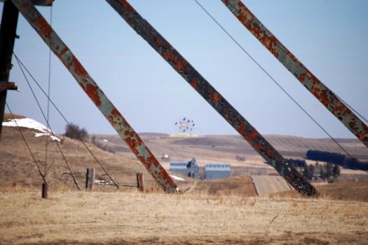 Geese in Flight as seen from Deer Crossing