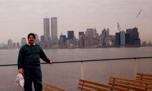 David in NYC Dec 1990